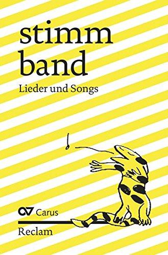 stimmband: Lieder und Songs (Reclams Universal-Bibliothek)