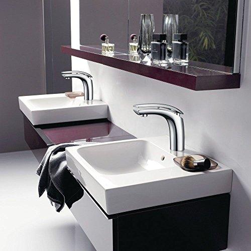 Homelody – Moderne Waschbeckenarmatur, Einhebelarmatur, Keramikkartusche, Perlator, Chrom - 5