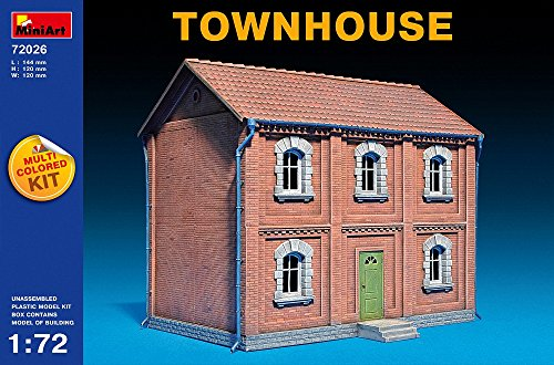 miniart-1-72-echelle-town-house-kit-multicolore
