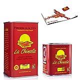 Pimentón de La Vera Ahumado pack La Chinata lata Agridulce 750g y lata 70g Picante