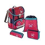 Schultaschenset 138501 Light 2 Butterfly Dancer