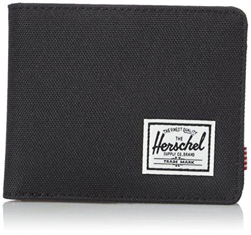 Herschel Roy Stoff-Geldbeutel, Schwarz -