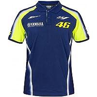 Valentino Rossi VR46 Moto GP M1 Yamaha Racing Team Polo Camisa Oficial 2018