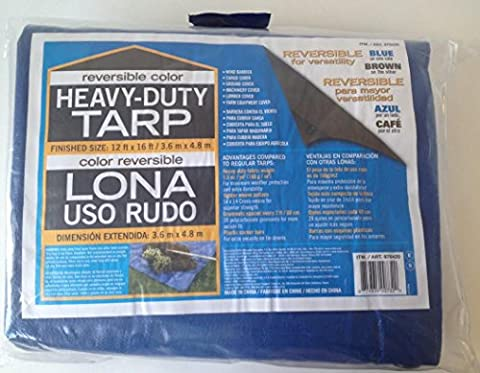 Heavy duty Poly Tarpaulin 12ft x 16ft High Quality