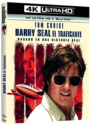 Barry Seal: El Traficante (4K UHD + BD) [Blu-ray] 51wwALdaVEL