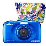 [Genuine Camera Pouch Set] Nikon (Nikon) Coolpix W100 Pink...