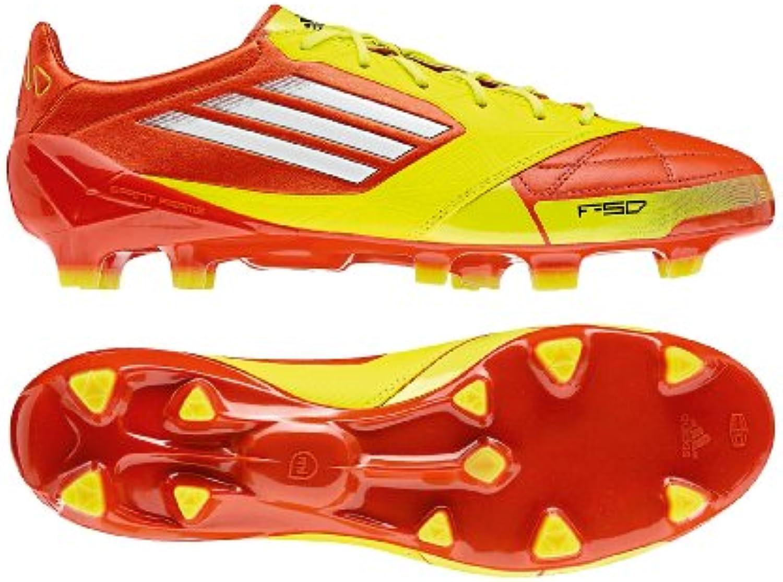 adidas F50 adizero TRX FG Leather  Herren Fußballschuhe Rot rot