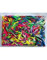 good-darts - 500 puntas de dardos de al menos 6 colores, de larga duración