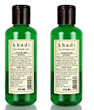 Khadi Neem and Tulsi Face and Body Wash,...