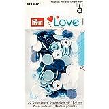 Prym Love color Snap Fastener, multicolor, 4x 6,7x 0,33cm