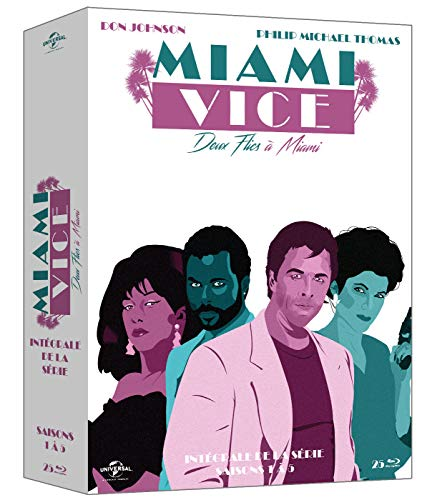 Miami Vice Deux Flics à Miami Intégrale De La Série Francia Blu Ray