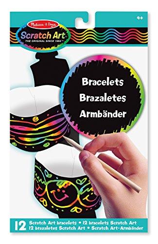Melissa & Doug Scratch Art-Party Pack: Armbänder