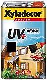 Xyladecor Oversol Dickschichtlasur UV + Alkydharz-Lösemittelbasis 4 Liter Farbwahl , Farbe:Nussbaum