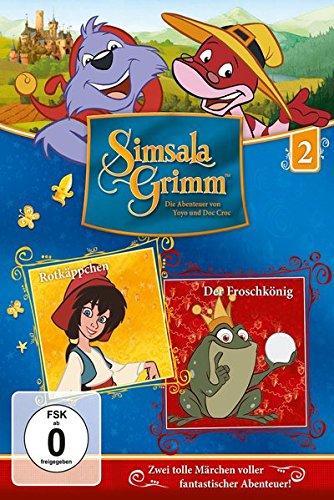 SimsalaGrimm 2 - Rotkäppchen / Der Froschkönig (Rotkäppchen Brüder Grimm,)