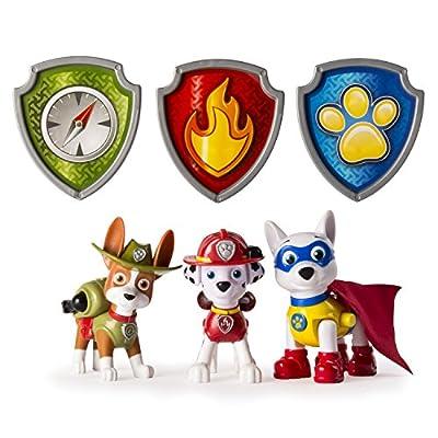 Paw Patrol Action Pup 3pk Niño/niña 3pieza(s) - Kits de figuras de juguete para niños (3 año(s), Niño/niña, Multicolor, Animales, Patrulla Canina, China) de Spin Master