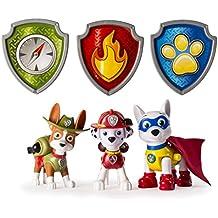 Paw Patrol Action Pup 3pk Niño/niña 3pieza(s) - Kits de figuras de juguete para niños (3 año(s), Niño/niña, Multicolor, Animales, Patrulla Canina, China)