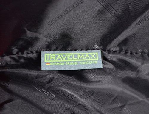 TRAVELMAX TRIBECA Trolley 65cm, (Rot) (schwarz) schwarz