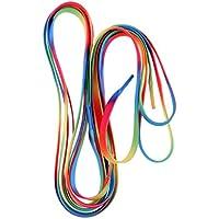 B Baosity 2 Psc Correa Cordón para Patines de Hockey Bastante Largo Durable Reempalzable Arcoiris