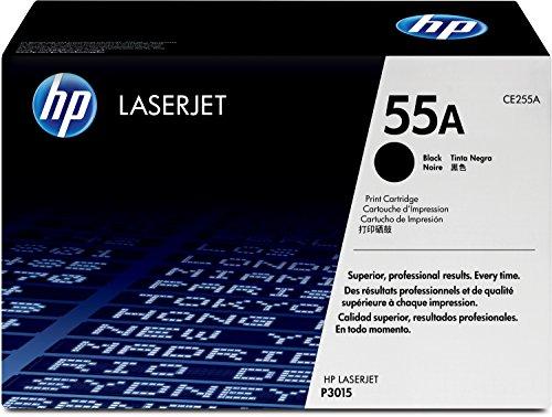 HP 55A (CE255A) Schwarz Original Toner für HP Laserjet Enterprise P3015, M525, HP Laserjet Pro M521 -