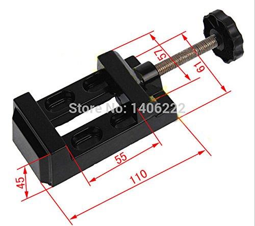 Haute qualité en alliage d'aluminium Table Vice Banc 55 mm Bench Étau à vis pour DIY Bijoux Artisanat Moule fixe Outil de réparation