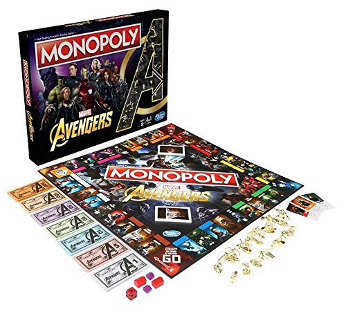 Hasbro- Monopoly Avengers