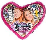 Joy Toy 66942 Maggie & Bianca Cuscino a Forma di Cuore immagine