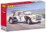 Heller - 80716 - Construction Et Maquettes - Peugeot 205 Ev 2 - Echelle 1/24ème