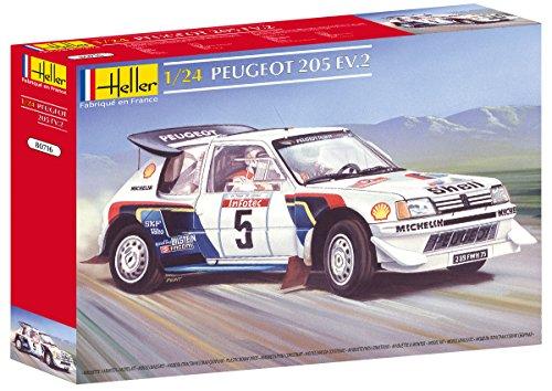 Glow2B Heller - 80716 - Maqueta para construir - Peugeot 205 Ev 2 - 1/24