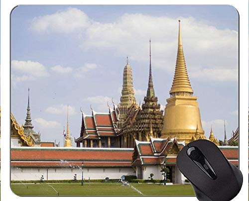 Mauspad Anti-Rutsch, Grand Buddha Statue Ästhetische Sinne Personalisierte Rechteck Gaming Mauspads (Geschenke Hello Personalisierte Kitty)