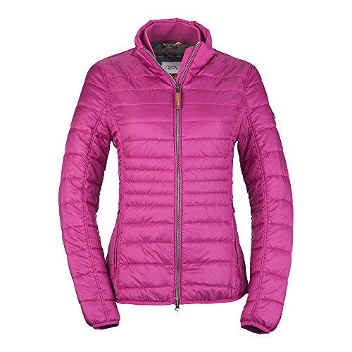 camel active Womenswear Damen Jacke Leichtstepp, Rosa (Pink 85) 42