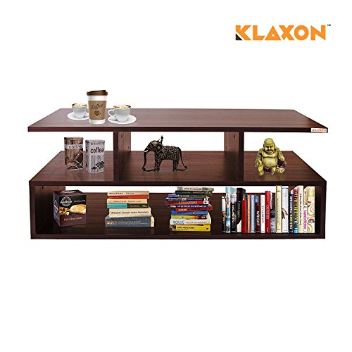 Klaxon Keelan Coffee Table (Matte Finish, Walnut)