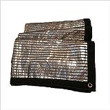 NAN Anti-Wind-und Regenschutz-Shade Cloth Sunblock Sunscreen Net Aluminiumfolie Cooling Shade Net Markisen (größe : 1X2m)