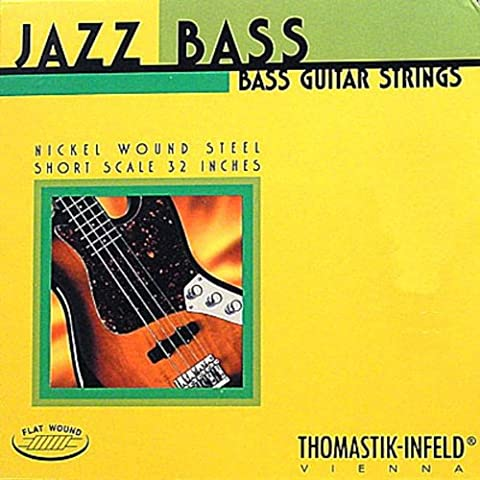 Corde Thomastik per basso elettrico Jazz Bass Serie Nickel Flat Wound Roundcore '.056' corde di singolo