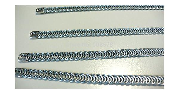 6pcs 5mm Wide Steel Bodice Bone Boning Corset Making Sewing Supplies 30cm