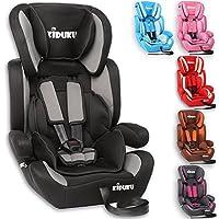 KIDUKU® Autokindersitz Kindersitz Kinderautositz, Sitzschale, universal, zugelassen nach ECE R44/04, in 6 verschiedenen Farben, 9 kg - 36 kg 1-12 Jahre, Gruppe 1/2 / 3