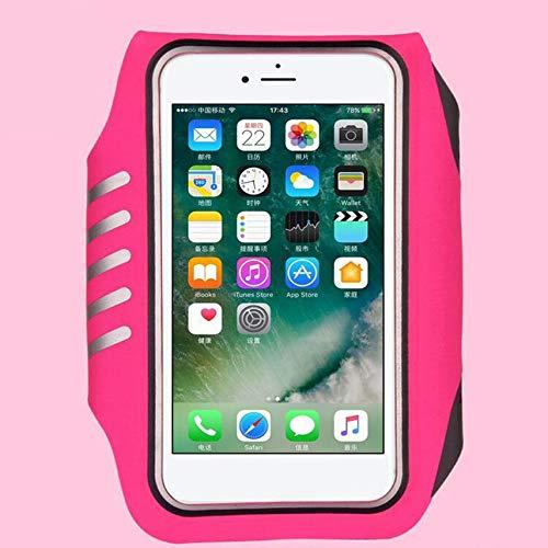 shuaishuang573 Mobile Phone Running Arm Bag Touch Screen Fingerprint Unlock  Arm Band