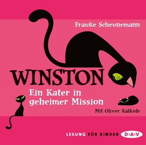 Buchseite und Rezensionen zu 'Winston: Ein Kater in geheimer Mission (3 CDs)' von Frauke Scheunemann