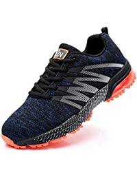 Axcone Homme Femme Air Running Baskets Chaussures Outdoor Running Gym Fitness Sport Sneakers Style Multicolore Respirante - 36EU-46EU