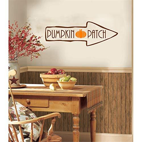 wandaufkleber baum mit fotos wandaufkleber familie Kitchen wall decal Pumpkin Patch Vinyl Wall Words...