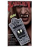 Horror-Shop Scarecrow Vampirzähne Schwarzlicht Aktiv Small