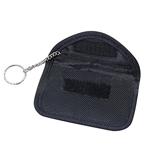 Gereton RFID-Signal-Blockierungstasche, Anti-Strahlungs-Schlüssel-Beutel-Signal-Blocker-Störsender für Handy-Privatleben-Schutz und Auto-Schlüssel-Tasche (Handy-störsender)