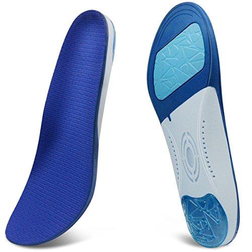 GIVBRO Orthopädische Einlagen - Einlegesohlen zur Ruhigstellung und Stoßdämpfung Komfortabel Gel Schuheinlagen für Damen