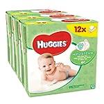 Huggies Natural Care Baby Wipes - 12...