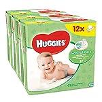 Huggies Natural Care Baby Wipes, 12 Packs (672 Wipes Total)