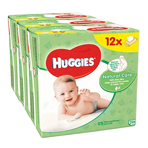Huggies Natural Care Baby Wipes – 12 Packs (672 Wipes Total) 51wwPpAjCzL