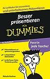 Besser präsentieren für Dummies Das Pocketbuch