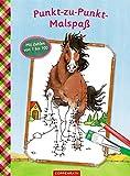 Pferdefreunde: Punkt-zu-Punkt-Malspaß