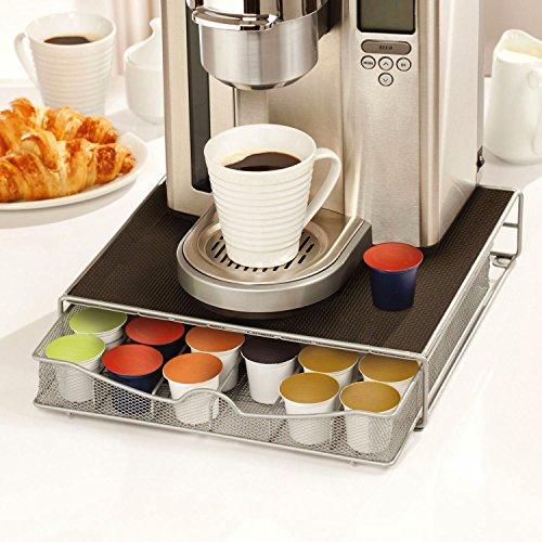 Case Wonder Support Machine à Café Capsule Avec Tiroir de Rangement pour 36 Pièces Dolce Gusto / Keurig K-Cup / Verismo / CBTL Capsules (1 Pack)