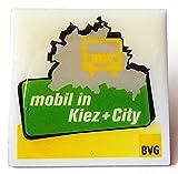 BVG - Berliner Verkehrsbetriebe - mobil in Kiez + City - Pin 35 x 35 mm
