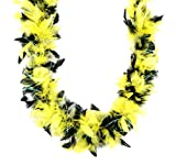 Touch of Nature Black and Yellow Chandelle Boa 25Gram